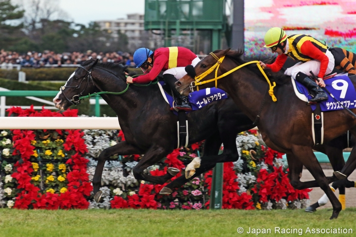 gold actor arima kinen 2015