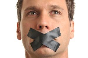 mouth shut